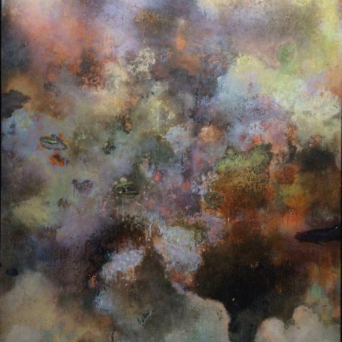 Spectrum Vaporific 60X48 acrylic on canvas 2006