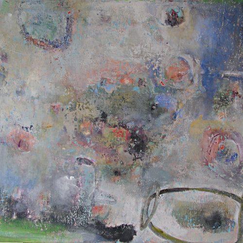 Nucelus – 40 x 46, acrylic on canvas, 2010, NFS