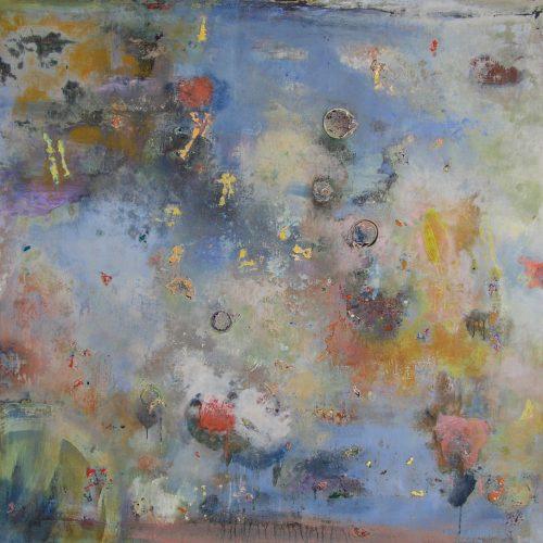 Regression – 50 x 54, acrylic on canvas, 2013
