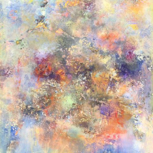 OCTOBER FOG 24 x 30 acrylic on canvas 2019